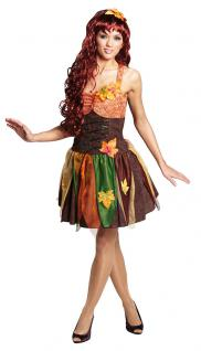 Waldfee Kostum Damen Kurz Fee N Kostum Marchen Karneval Damen Kostum