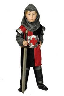 Kostüm Ritter Ritterkostüm Kinder Junge rot Mittelalter Kinderkostüm Karneval KK