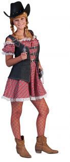 Kostüm Cowgirl Kostüm Dame Western Cowboy Damenkostüm Karneval Fasching KK