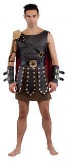 Karneval Klamotten Kostüm Gladiator Römer Herr Karneval Krieger Herrenkostüm