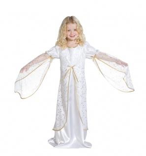 Engelskostüm Engel Kostüm Kinder Mädchen Engelskleid mit Sternen Weihnachten KK