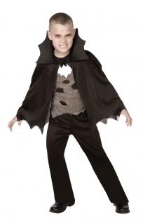 Vampir Kostüm Kinder Dracula Halloween Kostüm Jungen-kostüm Karneval Fasching KK
