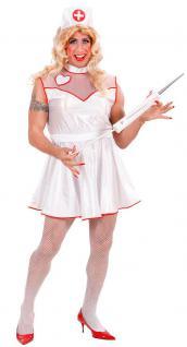 Kostüm Krankenschwester Herr Männerballett Karneval Junggesellenabschied