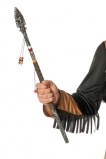 Indianer Speer 60 cm. Indianer-Waffe passend zum Indianer Kostüm Fasching KK
