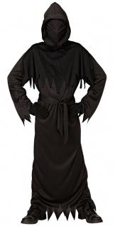 Horror Kostüm Kinder Grusel-Kostüm mit unsichtbare Gesichtsmaske Halloween KK