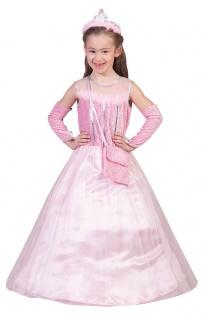 Prinzessin Kostüm Kinder Prinzessin-Kleid rosa Karneval Mädchen-Kostüm Fasching
