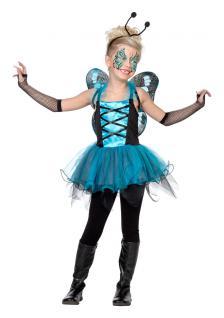 Karneval Klamotten Kostüm Schmetterling Kind Karneval Fee Mädchenkostüm