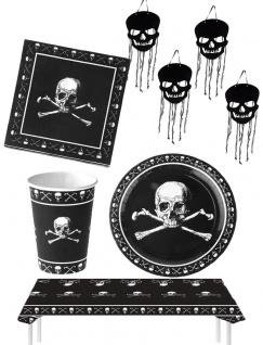 Halloween Party Totenkopf Raum Tisch Deko KK
