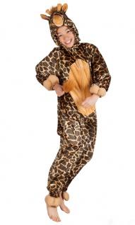 Giraffen Kostüm Kinder Plüsch Giraffe-Overall Karneval Tier Kinderkostüm