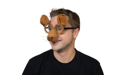 Karneval Klamotten Kostüm Brille Maus Zubehör Tier Karneval