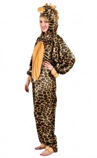 Giraffe Kostüm Damen Plüsch Giraffenkostüm Overall Karneval Tier Damenkostüm KK
