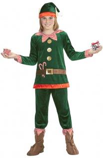 Weihnachtself Kostüm Kinder Weihnachts Wichtel Helfer Weihnachten Fasching KK