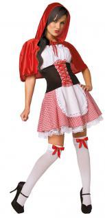 Karneval Klamotten Kostüm Rotkäppchen Märchen Dame Karneval Märchen Damenkostüm