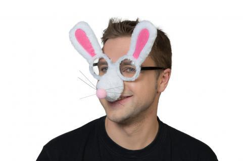 Karneval Klamotten Kostüm Brille Kaninchen Zubehör Tier Karneval
