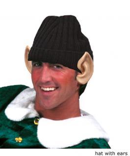 Elfen-Mütze Ohren Elfen-Hut Weihnachtsmütze Weihnachts-Wichtel Hut Weihnachtself