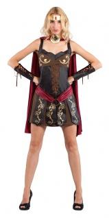 Gladiatorin Kostüm Damen sexy Römische Kriegerin Antike Gladiator Damen-Kostüm K