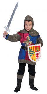 Kostüm Ritter Ritterkostüm Kinder Junge Mittelalter Kinderkostüm Fasching KK