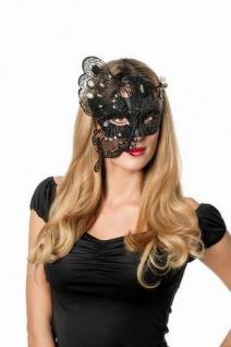 Gothic Halloween Maske Metall KK
