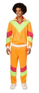 80er Jahre Kostüm Herren New Kids Assi Proll Neon Karneval Erwachsene-Kostüm KK