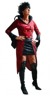 Vampir Kostüm Damen Dracula Damenkostüm Frack und Rock Halloween-Kostüm KK - Vorschau