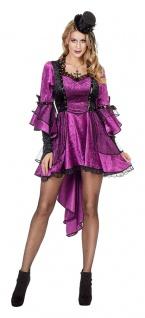 20er Jahre Burlesque Kostüm Damen Can Can Damenkostüm Karneval KK