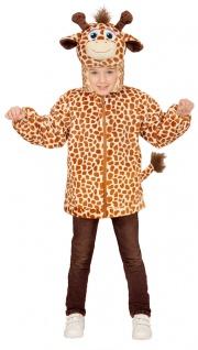 Giraffe Kostüm Kinder und Baby Komplettkostüm Jacke mit Kapuze und Maske KK