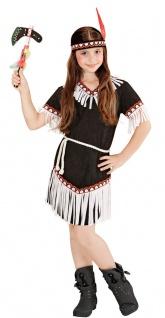Indianerkostüm Kinder Squaw Indianerin Indianermädchen Apache Karneval KK