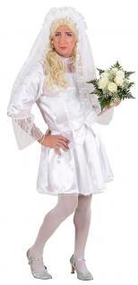 Kostüm Braut Herr Männerballett Karneval Junggesellenabschied Herrenkostüm KK