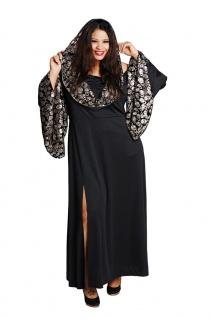 Vampir Kostüm Damen Damenkostüm Gothic Halloween Plus Size Totenkopf Vampir KK