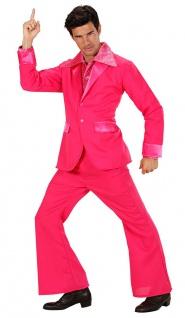 Disco Fever Kostüm Herren 80er Jahre Schlager Karneval Party Fasching KK