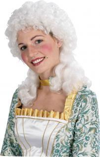 Rokoko Perücke Damen weiß Viktorianische Perücke Barock Perücke lockig KK