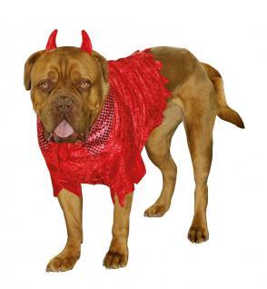 Karneval Klamotten Kostüm Teufel für Hunde Karneval Hundenkostüm