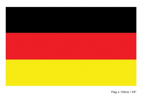 Deutschland Fahne Flagge 90 x 150 cm. Fan-Artikel WM Frauen Fußball KK