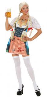 Oktoberfest Kostüm Schürze Bayern Karneval Grillschürze Damenkostüm Einheitsg KK