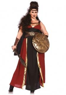Karneval Klamotten Kostüm Gladiatorin Dame Plus Size Luxus Karneval Römerin