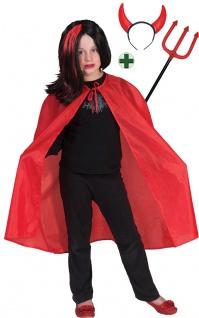 Teufel Horror Devil Kostüm Satan Kinderkostüm Halloween Karneval Fasching KK