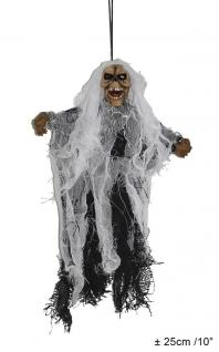 Skelett Halloween Deko Skelett 25 cm. Hänge Deko Halloween Karneval KK