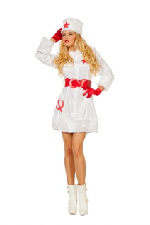 Kosaken Kosakin Kostüm Damen sexy Russin Russen Karneval Fasching KK