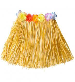 Kostüm Hawaii Rock Karibik natur kurz Dame Kostüm Karneval Sommerparty