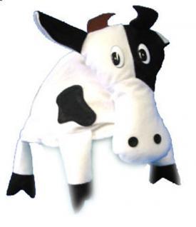 Karneval Klamotten Kostüm Mütze Kuh Zubehör Tiere Karneval
