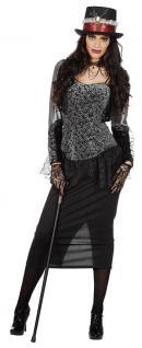 Steampunk Kleid Viktorianisches Kleid Steampunk Kostüm Damen Damen-Kostüm Gothic