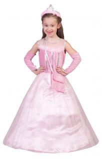 Karneval Klamotten Kostüm Märchen Prinzessin rosa Kostüm Fee Kinderkostüm