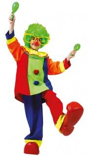 Clown Kostüm Kleinkind Kinder bunt KK