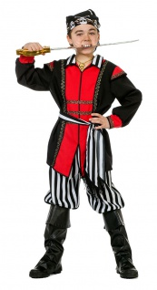 Piraten-Kostüm Kinder Jungen Seeräuber Pirat Kinderkostüm Fasching Karneval KK