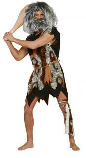 Karneval Klamotten Kostüm Neandertaler Velboa Herr Kostüm Karneval Höhlenmensch