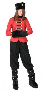 Kosaken Uniform Damen Kosaken-Kostüm Damen-Kostüm Russin Kostüm für Damen KK