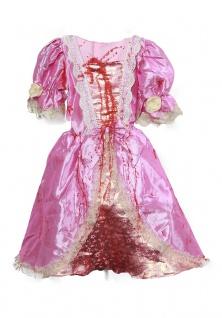 Zombie Kostüm Mädchen Kinder blut-ige Horror Prinzessin Halloween Fasching KK