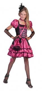 Can Can Kostüm Mädchen Saloongirl Western Kinderkostüm Wilder Westen KK