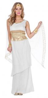 Griechische Göttin Kostüm Damen Helena Griechin Römerin Fasching Karneval KK