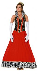 Königin-Kostüm Damen lang Märchen Königin Märchen-Kostüm Karneval Damen-Kostüm K